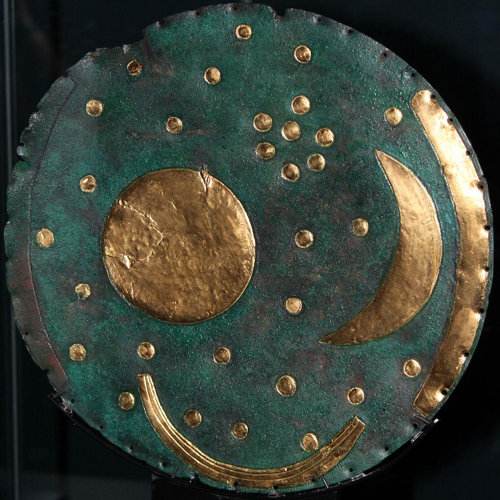 Disque de Nebra, 1600 av JC, Allemagne