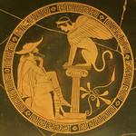 Oedipe et le sphinx, musée du Vatican