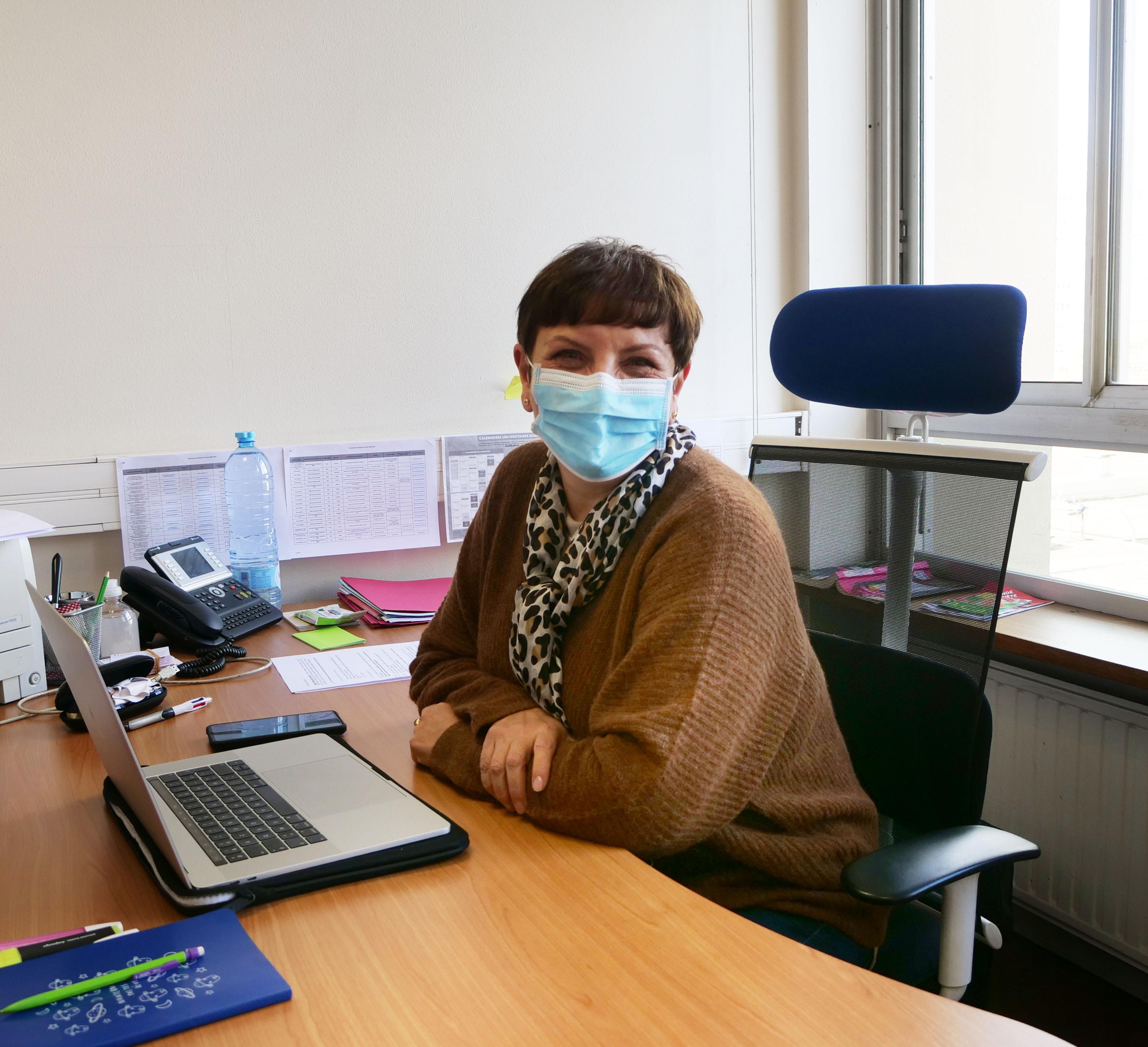 Geneviève BERGONNIER-DUPUY vice-présidente Commission Recherche (CR) statutaire
