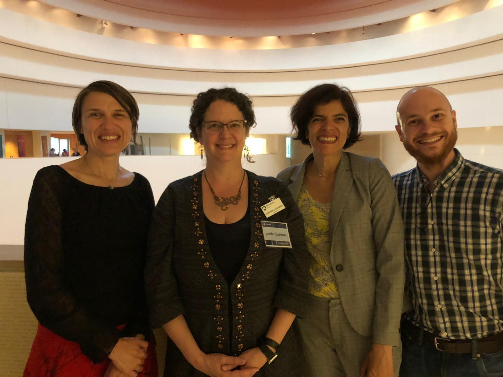 Sonia Lehman-Frisch (UPN), Jenifer Cushman (Penn State Beaver), Mariana Pujol (UPN), Valentin Zero (UPN)