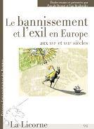 Exil et bannissement - P Drouet et Y Brailowsky - PUR 2010